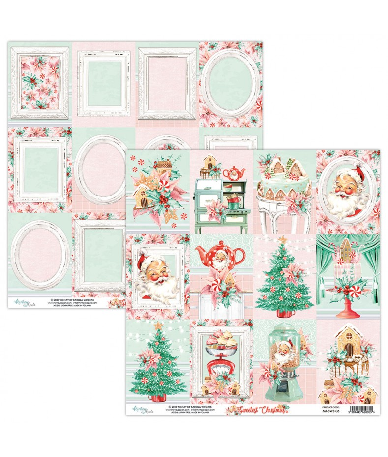 Papier do scrapbookingu Mintay Papers - Sweetest Christmas 06