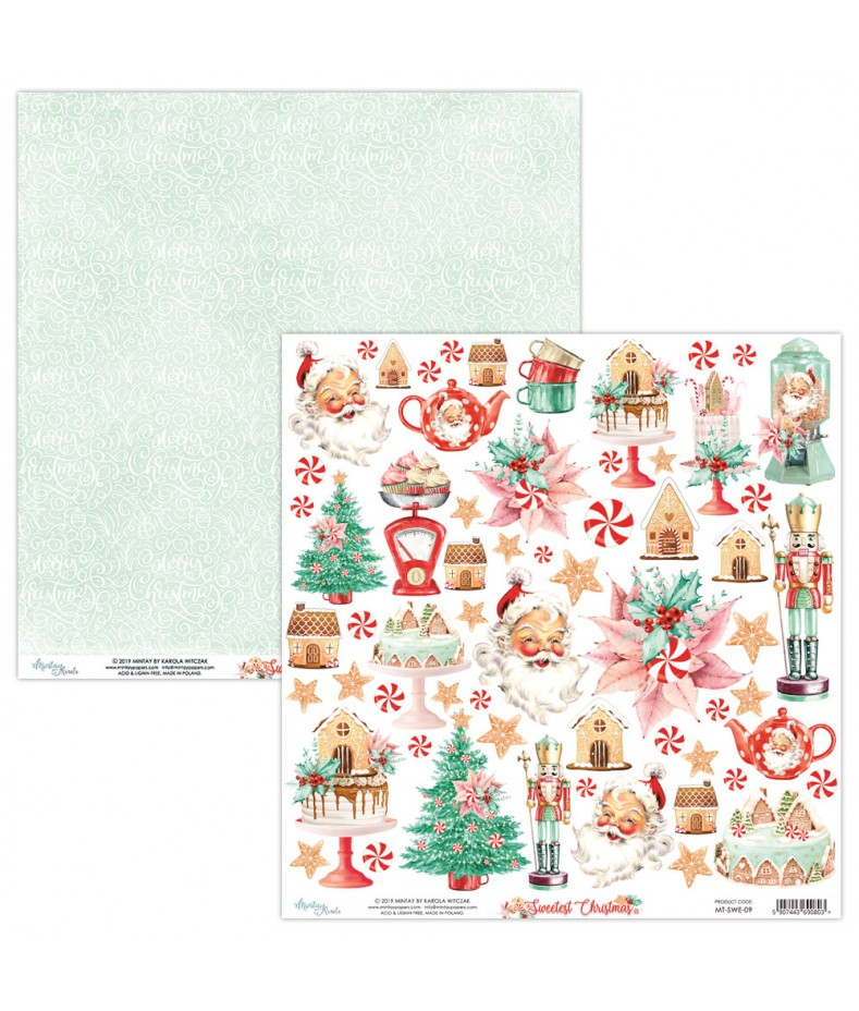 Papier do scrapbookingu Mintay Papers - Sweetest Christmas 09