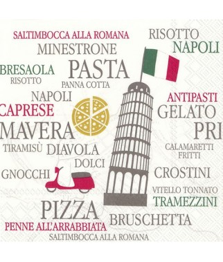 Serwetka Italy