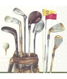 Serwetka kije do golfa