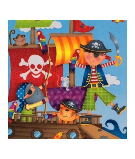 Serwetka do decoupage - Piraci