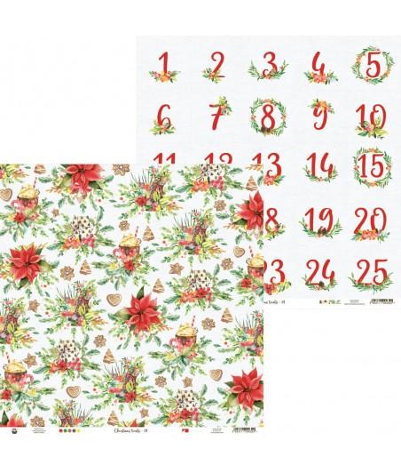 Papier do scrapbookingu 12x12, Christmas treats 01 [P13]