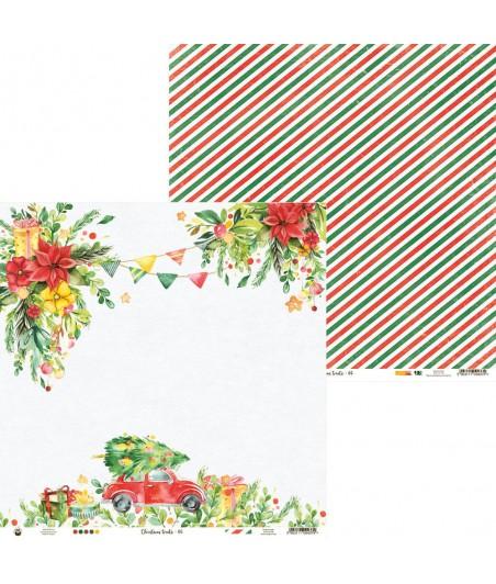 Papier do scrapbookingu 12x12, Christmas treats 06 [P13]