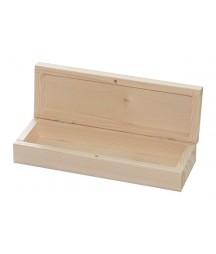 Piórnik z surowego drewna z magnesem