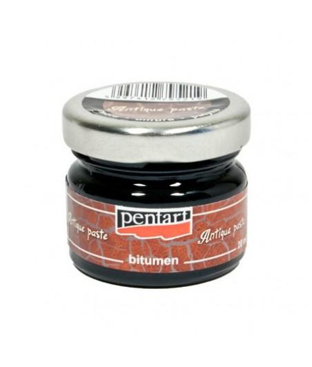 Pasta postarzająca - bitum, Antique Paste Pentart, Umbra, 20 ml