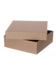 Pudełko tekturowe do samodzielnego ozdabiania 15x15