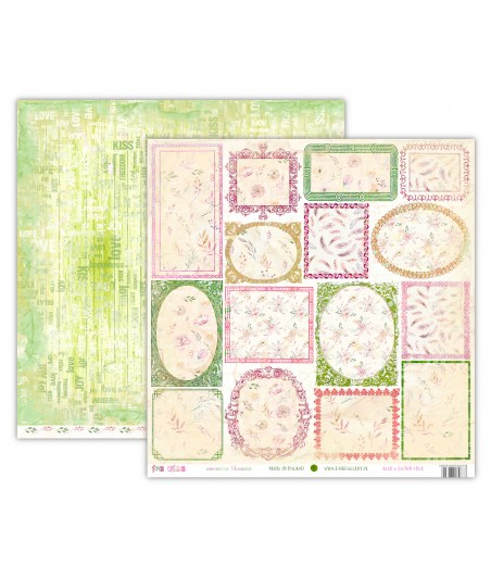 Papier do scrapbookingu 12x12, oho BOHO - awesome blossom [UHK]