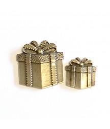 Ozdoba metalowa Mitform, Boże Narodzenie - Prezent duży