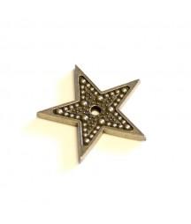 Ozdoba metalowa Mitform, Boże Narodzenie - Gwiazdka mała, wzór 2