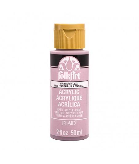 Farba akrylowa do decoupage, Plaid FolkArt, French Lilac - liliowy