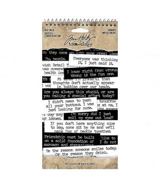 Naklejki do scrapbookingu, Big Talk Snarky TH93797