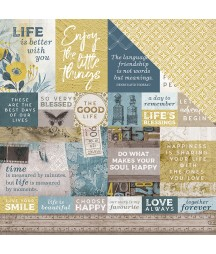 Papier do scrapbookingu Kaisercraft, Antiquities - Belved P2747