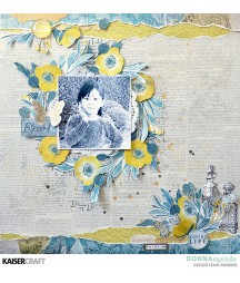 Papier do scrapbookingu, Antiquities: Limited Edition KC-P2741