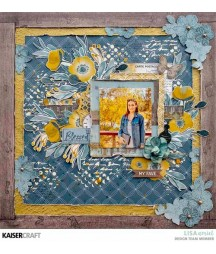 Papier do scrapbookingu, Antiquities: Precious KC-P2746