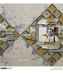 Papier do scrapbookingu, Antiquities: Heirloom KC-P2742