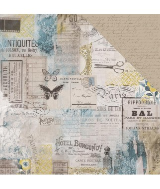 Papier do scrapbookingu Kaisercraft, Antiquities - Rare P2739