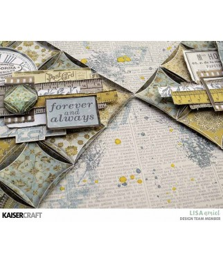 Papier do scrapbookingu Kaisercraft, Antiquities - inspiracje