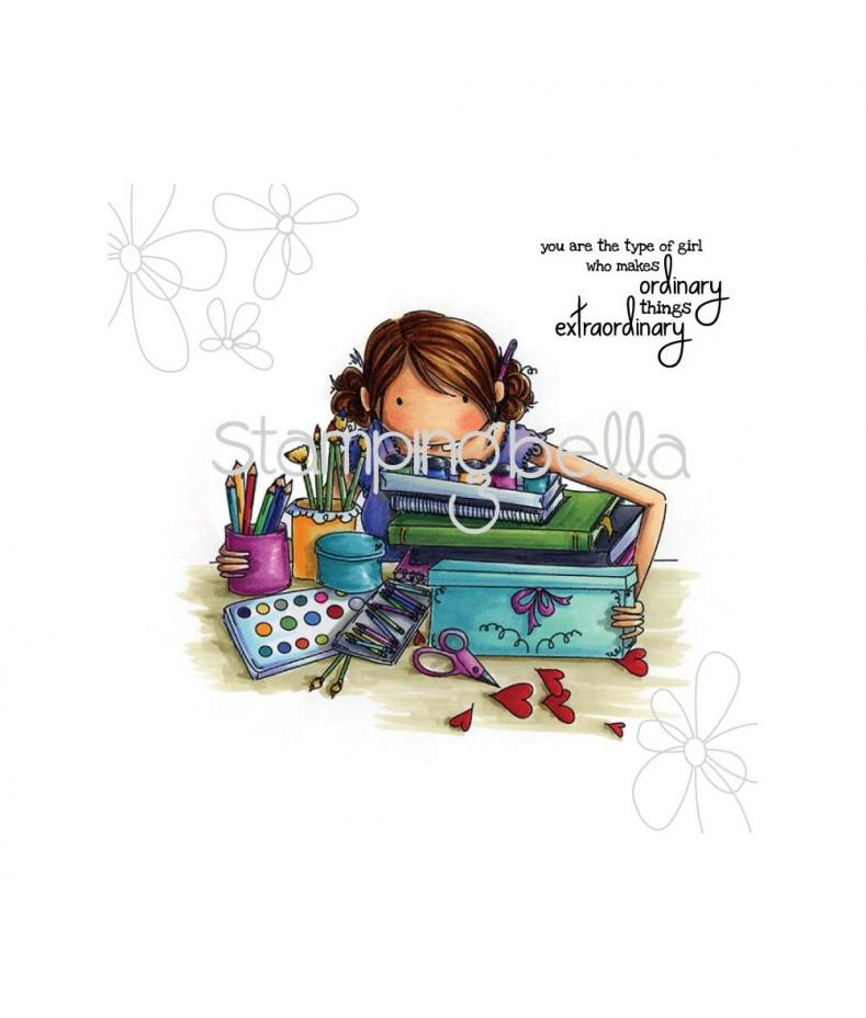 Stempel gumowy Stamping Bella Callista Loves to craft EB268