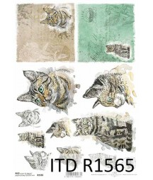Papier ryżowy A4 ITD R1565,...