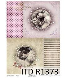 Papier ryżowy A4 ITD R1373,...