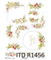 Papier ryżowy A4 ITD R1456,...