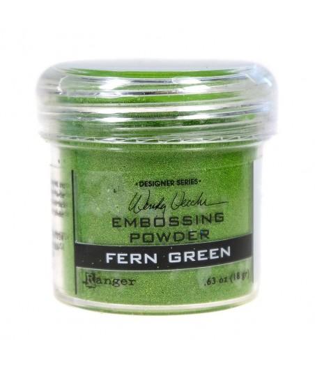 Puder do embossingu Ranger, zieleń paproci Fern Green