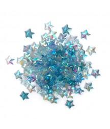 Kryształki dekoracyjne do scrapbookingu - gwiazdki