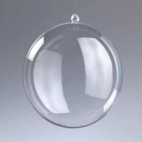 Bombka akrylowa składana - medalion 9 cm