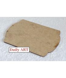 Tabliczka z HDF Daily Art nr 7 10x15 cm - baza do decoupage