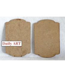 Tabliczka z HDF nr 7 100x150 mm Daily ART  DA16M0207