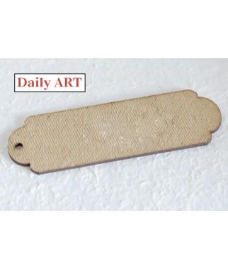 Zakładka do książki z HDF 15x5 cm - baza od ozdabiania - Daily Art