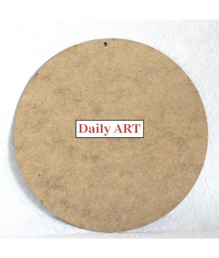 Zawieszka z HDF - okrągła baza do ozdabiania np. decoupage - średnica 15 cm