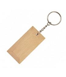 Brelok z drewna - baza do decoupage