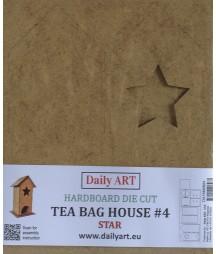 Herbaciarka z HDF wz. 4 Domek z gwiazdką - Daily Art