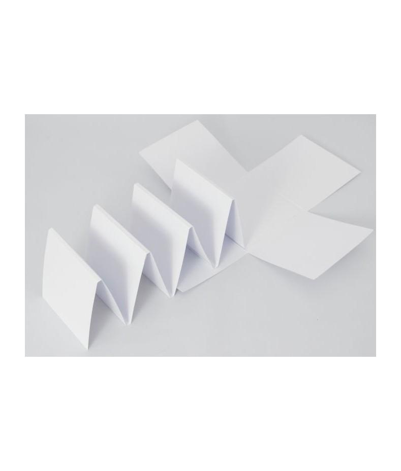 Baza do exploding boxa z harmonijką - biała - baza do ozdabiania - scrapbooking