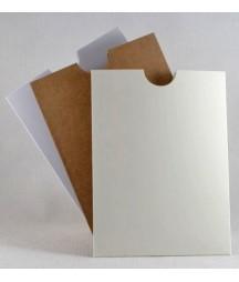 Kieszonka z papieru kraft - baza do albumów scrapbooking