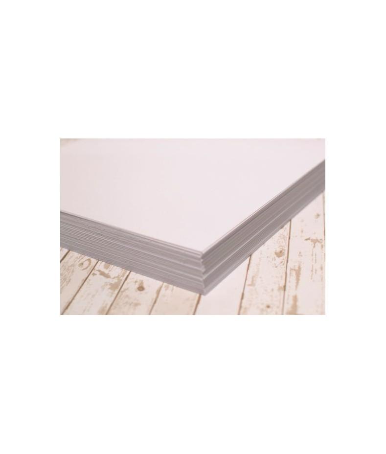 Biały karton 30x30 cm do scrapbookingu