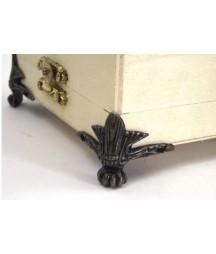 Narożne nóżki do pudełek drewnianych
