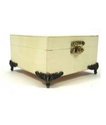 Nóżki narożne do pudełek drewnianych - okucia metalowe 4 szt. X107