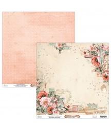 Papier do scrapbookingu Mintay Papers - Love Letters 01