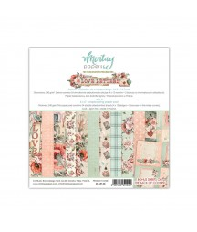 Bloczek do scrapbookingu 6x6 Love Letters - Mintay Papers