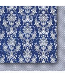 Sklep z porcelaną 01 - papier do scrapbookingu od Galerii Papieru