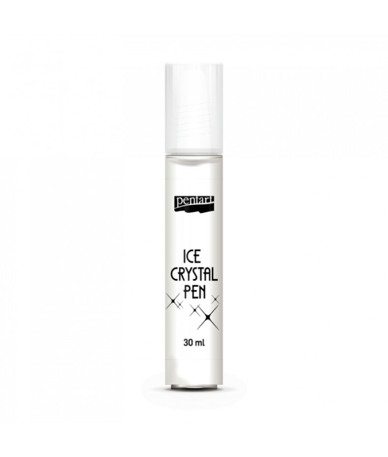 Pisak Ice Crystal - lód krystaliczny, Pentart
