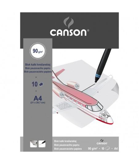 Blok kalki kreślarskiej Canson A4