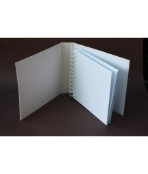 Baza albumowa do scrapbookingu - grudniownik 210x175 biały [Eco Scrap]