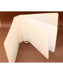Baza albumowa - okładka z zaokrąglonymi rogami, kolor biały