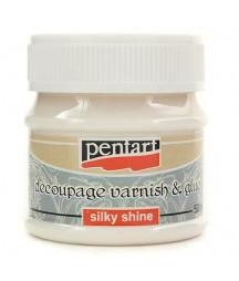 Klej i lakier do decoupage Pentart 50 ml - silky shine