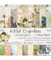 Zestaw papierów do scrapbookingu Craft O'Clock, Wild Garden