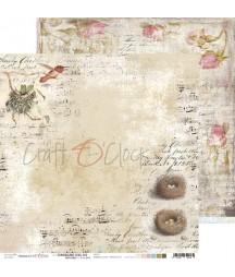 Papier do scrapbookingu Hummingbird Song 02 Craft O'Clock