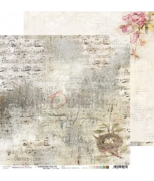Papier do scrapbookingu Hummingbird Song 03 Craft O'Clock